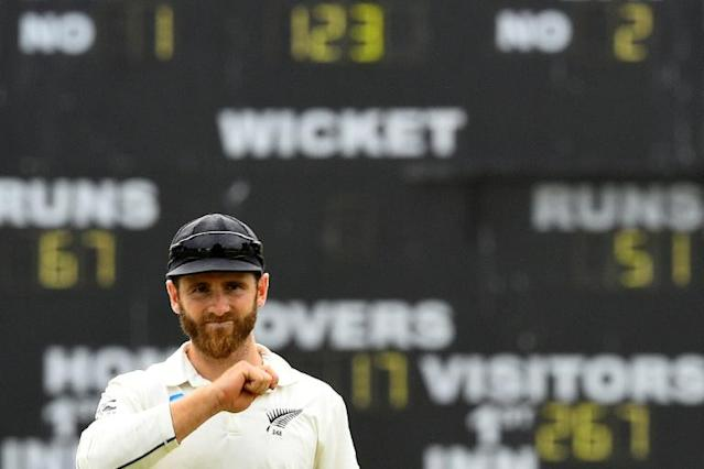 New Zealand captain Kane Williamson said they thought the wicket would deteriorate more than it did (AFP Photo/ISHARA S. KODIKARA)