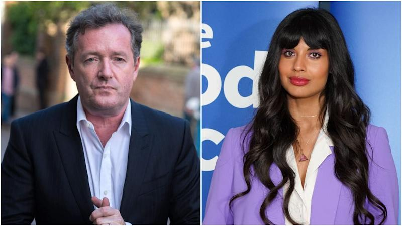 Piers Morgan Responds to Jameela Jamil After She Calls Him the 'Thirstiest B**ch Alive'