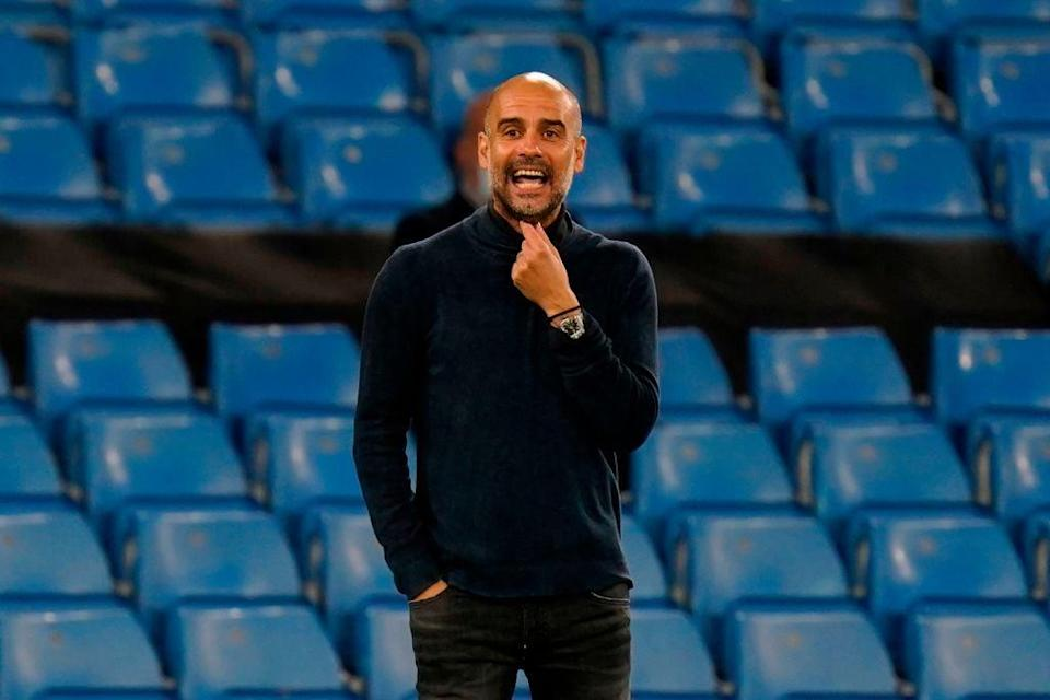 Man City manager Pep Guardiola (POOL/AFP via Getty Images)