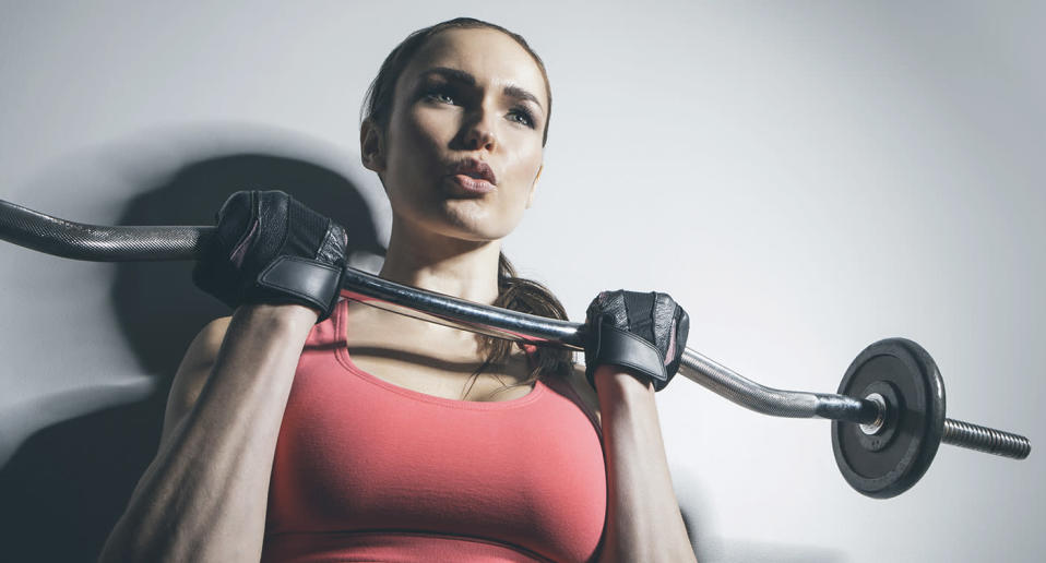 You don't have to wear makeup to the gym ever, but if you want to, there are great options out there. (Photo: Getty Images)