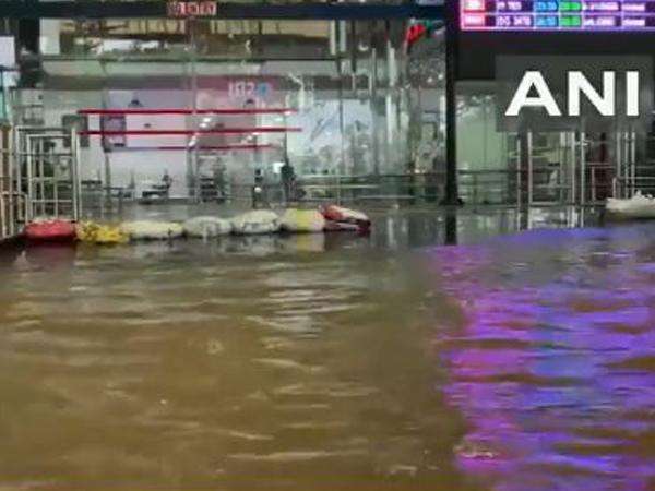 Visakhapatnam airport faces severe waterlogging due to cyclone 'Gulab'
