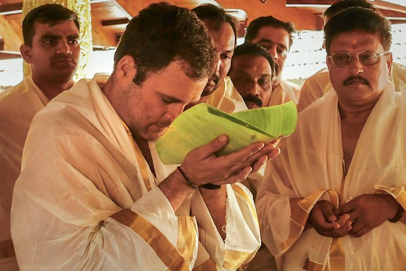 Wayanad Cushions Amethi Blow for Rahul Gandhi as Kerala Offers Face-Saver to Congress; Sabarimala Fails to Help 'Lotus' Bloom