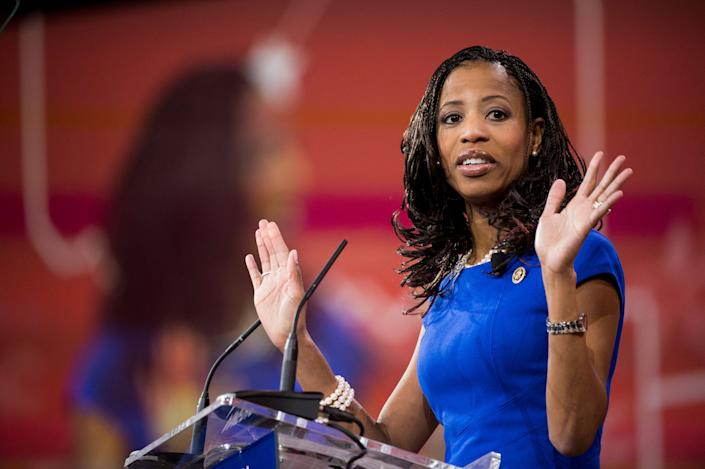 Rep. Mia Love had earlier criticized the president's decision to end a key protection for Haitian immigrants. (Photo: Bill Clark via Getty Images)