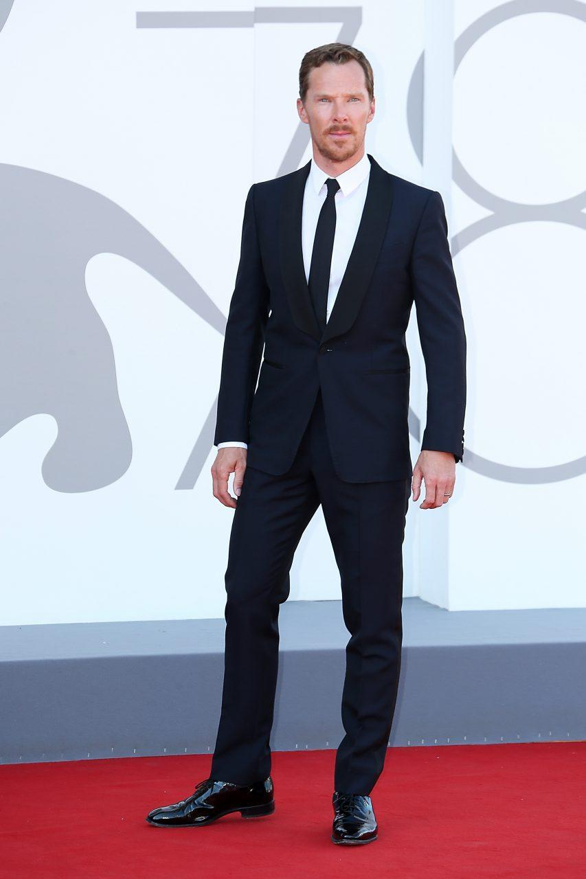 VENICE, ITALY - SEPTEMBER 02: Benedict Cumberbatch attends the red carpet of the movie 'The Power Of The Dog' during the 78th Venice International Film Festival on September 02, 2021 in Venice, Italy. (Photo by Ernesto Ruscio/Getty Images)