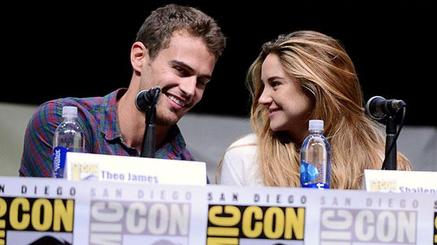 'Divergent' stars Theo James and Shailene Woodley