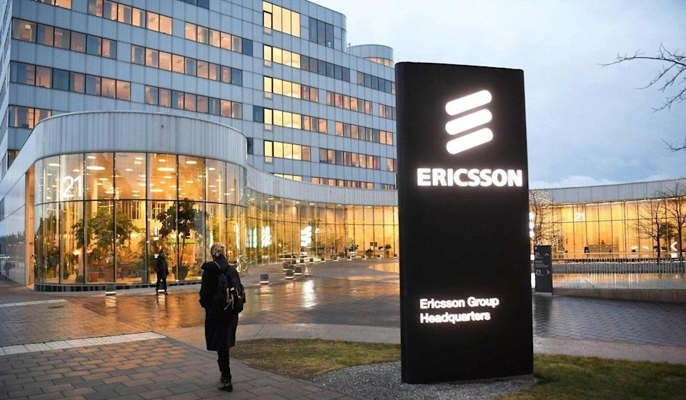It is possible that the Swedish firm Ericsson, both a competitor and a customer of Huawei, will face retaliation in China. Photo: TT News Agency/AFP