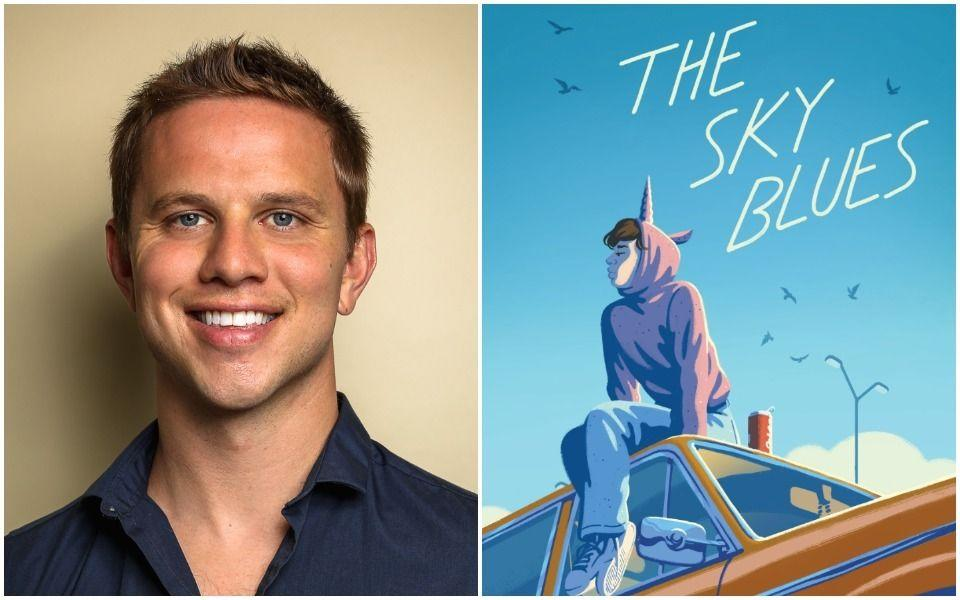 """Author Robbie Couch's debut novel, """"The Sky Blues,"""" was released earlier this month. (Photo: Sebastian Garnett/Simon & Schuster)"""