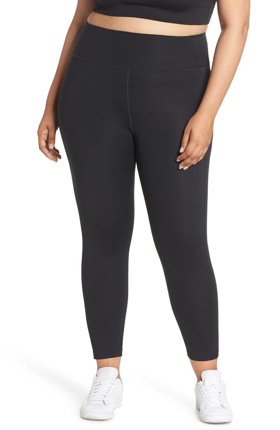 <p>Match that sports bra with these beloved <span>Girlfriend Collective High Waist 7/8 Leggings</span> ($68).</p>