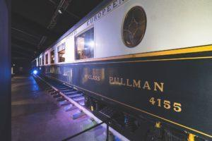 The Pullman carriage built in 1920. Photo: Orient Express