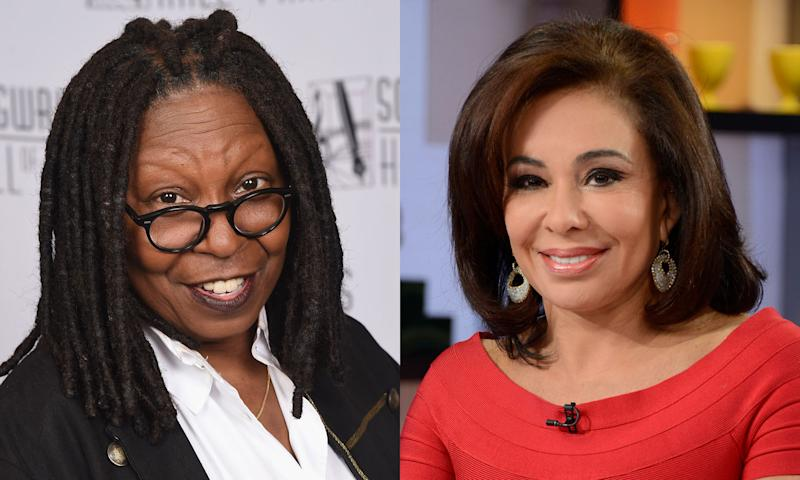 Watch 'The View' Devolve Into Chaos Between Whoopi And Jeanine Pirro