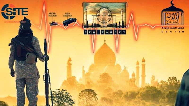 Poster Depicting Potential ISIS Attack on Taj Mahal Sparks Fears