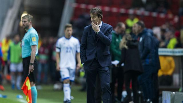 Israel posed Spain a threat at times on Friday and Julen Lopetegui was relieved that his men ultimately made light work of them.