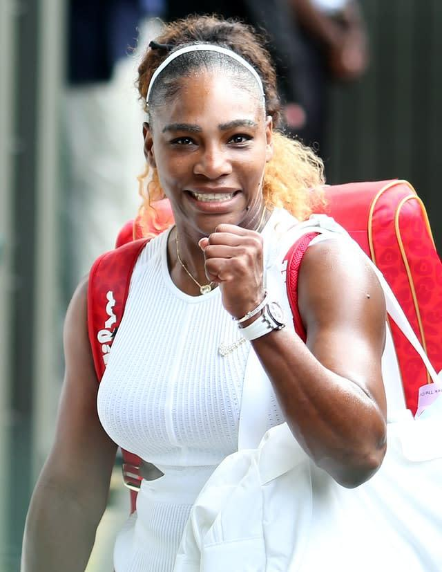 Serena Williams is keen to play at the US Open this year (Steven Paston/PA)