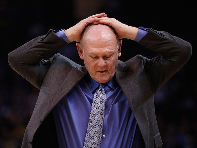 George Karl, forever a Sacramento King. (Getty Images)