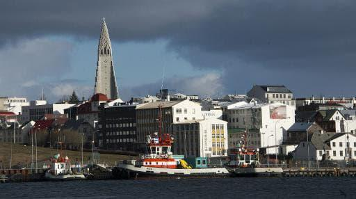 Une photo de la capitale de l'Islande, Reykjavik, le 25 avril 2013 - Halldor Kolbeins, AFP/Archives