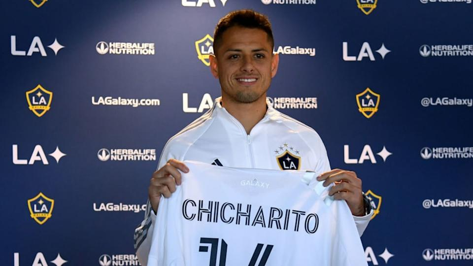 Los Angeles Galaxy Introduce Javier Chicharito Hernandez | Harry How/Getty Images