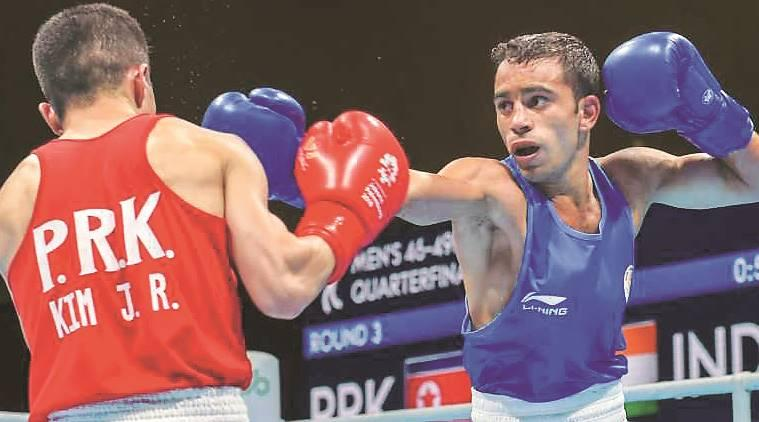 IOC , International Olympic Committee, Boxing, Amit Panghal, 2020 Olympics, World Championship, Sports News, Indian Express