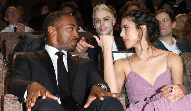 Margaret Qualley, Anthony Mackie, Pete Davidson