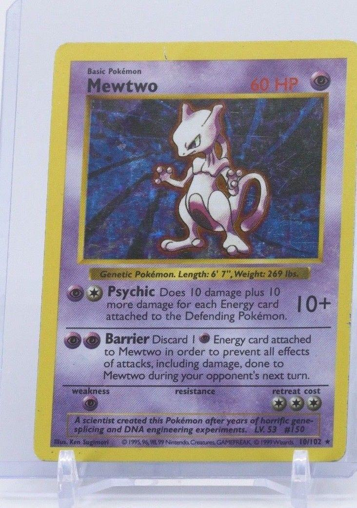 """<p>First published in Japan in 1996, Pokemon trading cards have a huge following and rare cards can go for wildly high prices. <a href=""""https://www.ebay.com/itm/Ultra-Rare-Mewtwo-Holographic-misprint-card/362448052211?hash=item5463965ff3:g:p9sAAOSwT0pbsn7w:rk:1:pf:0"""" rel=""""nofollow noopener"""" target=""""_blank"""" data-ylk=""""slk:This holographic misprint Mewtwo card"""" class=""""link rapid-noclick-resp"""">This holographic misprint Mewtwo card</a> is selling for $11,997 and <a href=""""http://www.ebay.tv/sch/Trading-Cards-/868/i.html?_from=R40&_nkw=pokemon+cards&_sop=16"""" rel=""""nofollow noopener"""" target=""""_blank"""" data-ylk=""""slk:other cards"""" class=""""link rapid-noclick-resp"""">other cards</a> can fetch similarly expensive sums. </p>"""