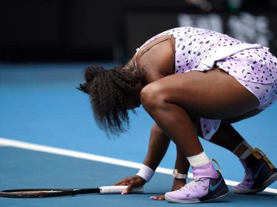 Williams crashed out of the tournament on Friday (EPA)