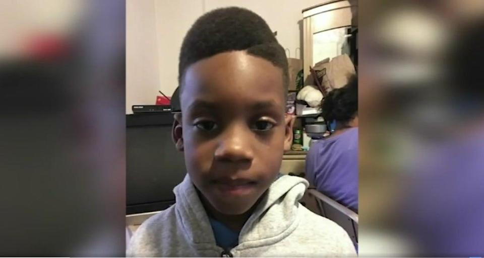 12-year-old Kaden Ingram was shot dead, allegedly by his mother (Screengrab/ CBS Chicago)