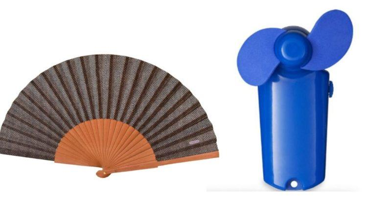 handheld folding fan and batter powered mini fan