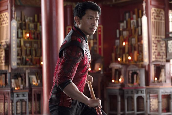 Simu Liu as Shang-Chi in 'Shang-Chi And The Legend Of The Ten Rings'.