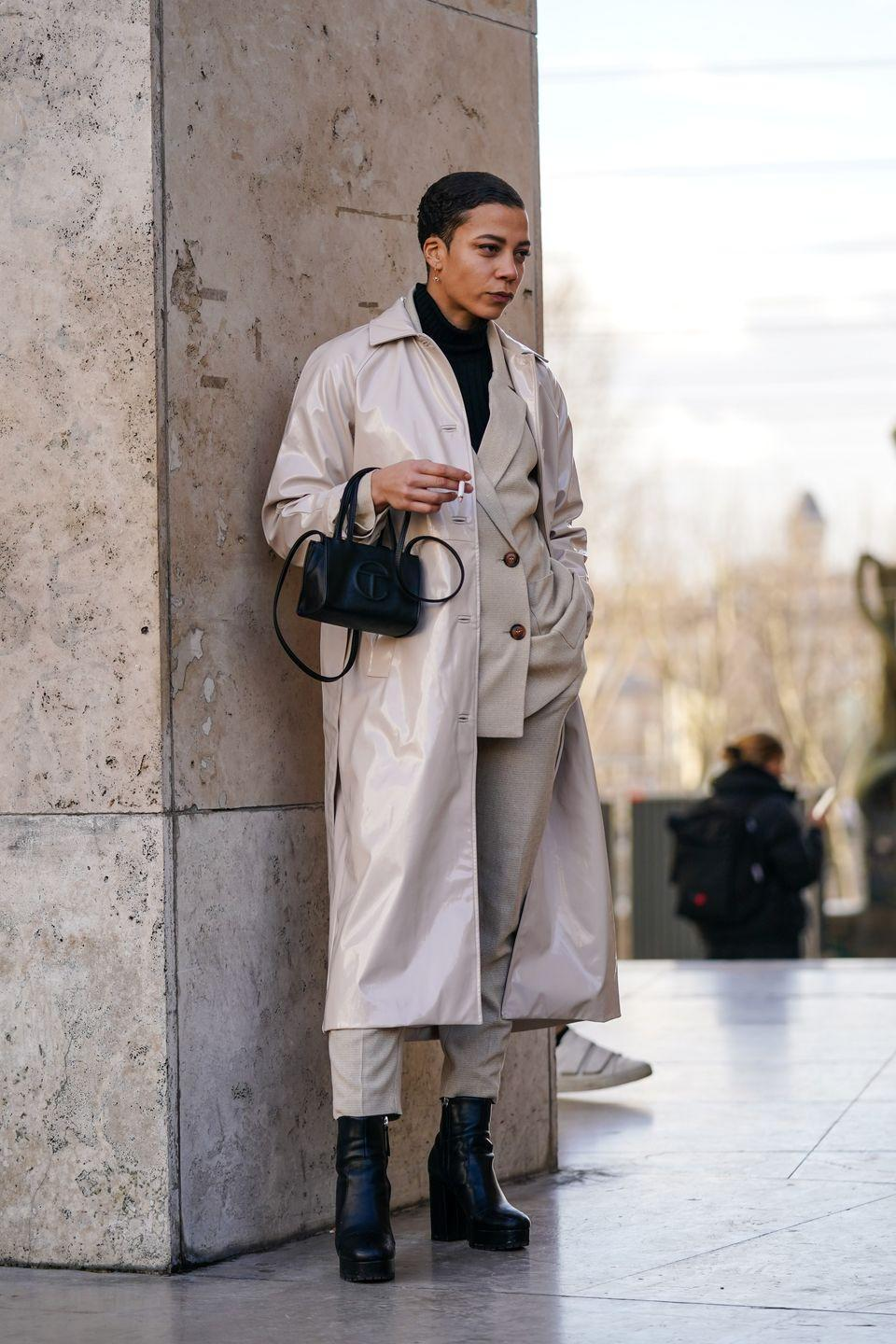 """<p><a href=""""https://www.telfar.net/"""" rel=""""nofollow noopener"""" target=""""_blank"""" data-ylk=""""slk:Telfar"""" class=""""link rapid-noclick-resp"""">Telfar</a>'s shopping bag is the ultimate fashion status symbol now—which of course means it sells out faster than you can get your hands on it. Sleek, simple, and collectible—it's he very definition of It bag. </p>"""