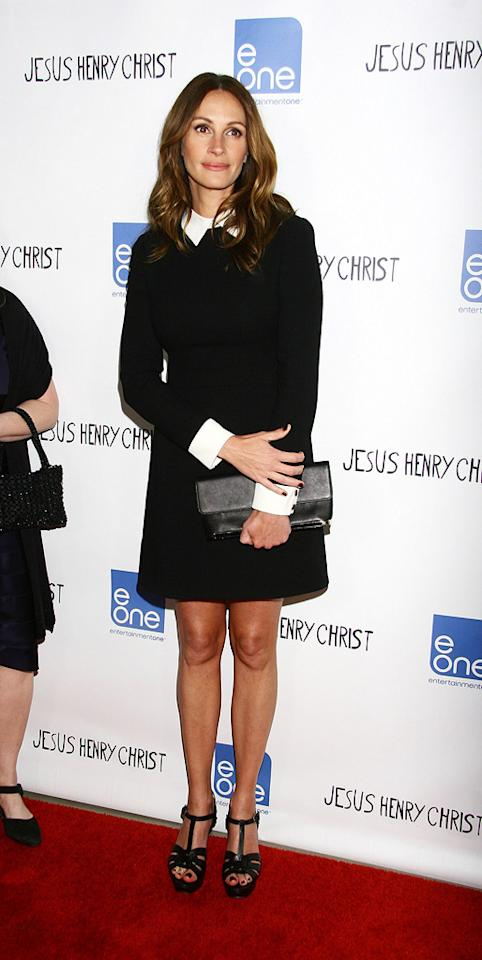 """Julia Roberts attends the Los Angeles premiere of """"Jesus Henry Christ"""" on April 18, 2012."""