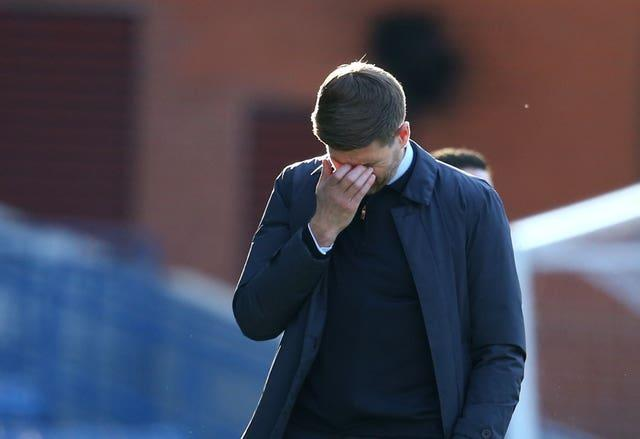 The Ibrox boss has also faced testing moments since moving into management