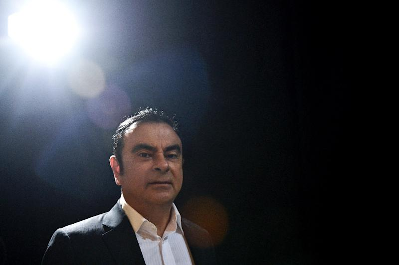 Ghosn is unlikely to taste freedom any time soon (AFP Photo/Patricia De Melo MOREIRA)