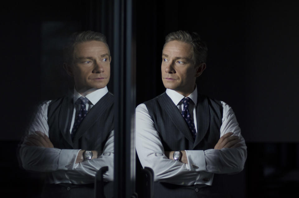 Martin Freeman is haunted by his past in Ghost Stories (Lionsgate)