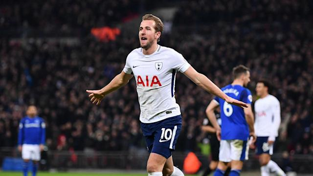 Teddy Sheringham is no longer Tottenham's leading scorer in the Premier League after Harry Kane moved on to 98 with a brace versus Everton.