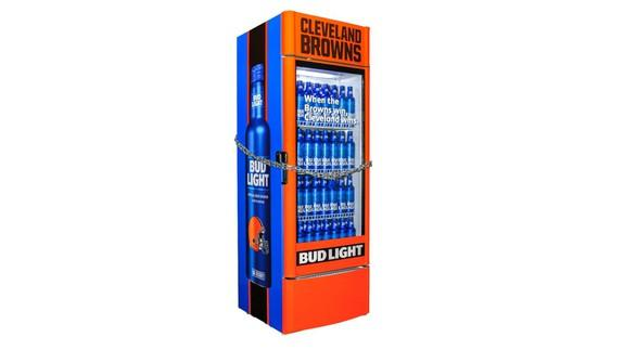 Anheuser-Busch InBev launches Bud Light 'Victory Fridge' for Cleveland Browns