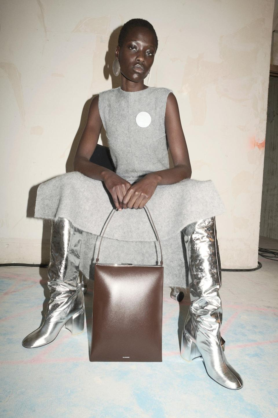 <p>With luxe-looking finishes, metallics, sequins, prints, and textural play, this boot trend is all about standing out. </p>