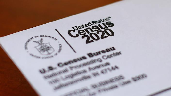A 2020 census letter