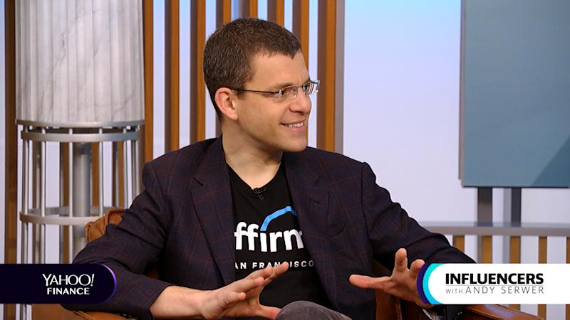 Affirm CEO Max Levchin appears on Influencers with Andy Serwer.