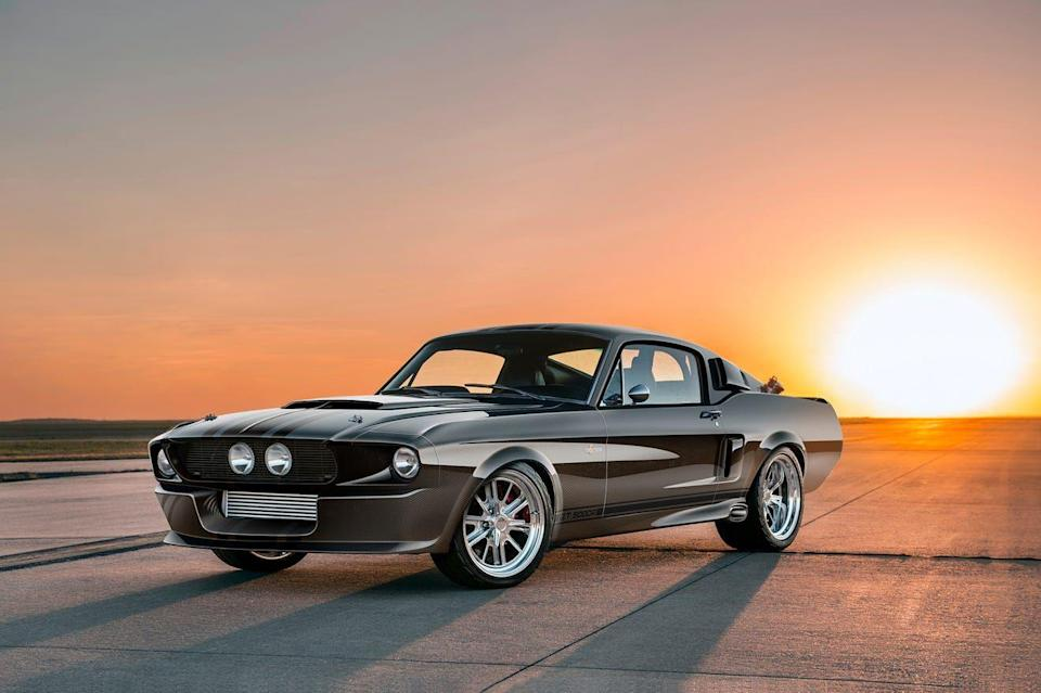 """<p>This $298K beast is perfect for the classic car enthusiast who loves modern features <em>and</em> has a ton of disposable cash they're itching to spend. This contemporary iteration of Mustang's iconic Shelby is comprised of a carbon fiber body and comes in a limited run of 25 cars. <em>Automobile</em> <a href=""""https://www.automobilemag.com/news/shelby-mustang-gt500cr-carbon-fiber-photos/"""" rel=""""nofollow noopener"""" target=""""_blank"""" data-ylk=""""slk:reports"""" class=""""link rapid-noclick-resp"""">reports</a> that this new model is about 600 pounds lighter than the standard GT500CR and is powerful with a """"claimed"""" 810 hp engine.</p>"""