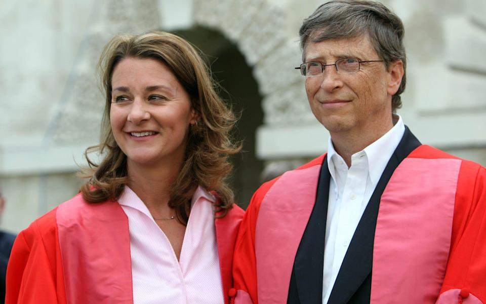 The Microsoft co-founder and his wife, who launched the world's largest charitable foundation, said they would continue to work together at the Bill & Melinda Gates Foundation. - PA