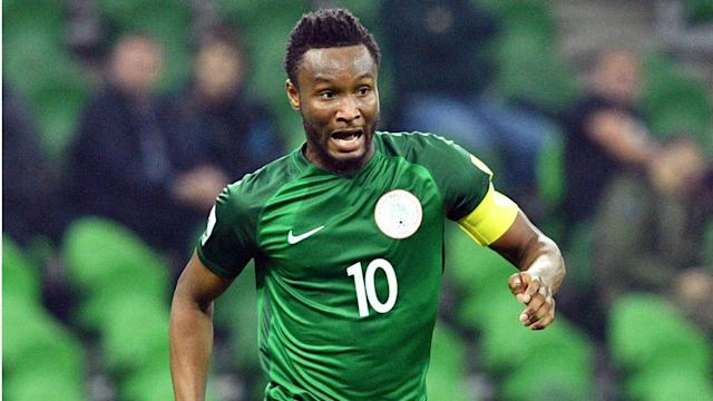 The 30-year-old midfielder will not be in action when the Super Eagles square off with the White and Reds at the Municipal Stadium