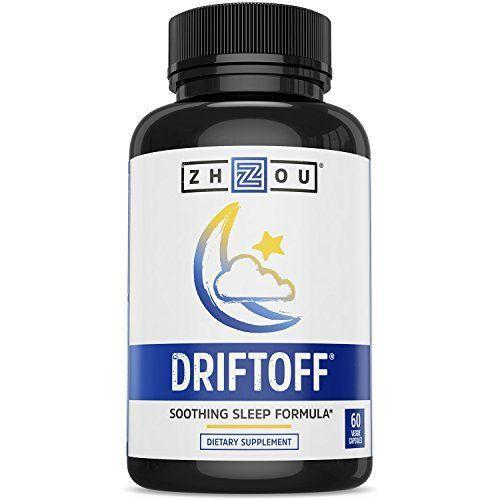 """<p><strong>DRIFTOFF</strong></p><p>amazon.com</p><p><strong>$21.04</strong></p><p><a href=""""http://www.amazon.com/dp/B015QGJ98G/?tag=syn-yahoo-20&ascsubtag=%5Bartid%7C2089.g.27269473%5Bsrc%7Cyahoo-us"""" rel=""""nofollow noopener"""" target=""""_blank"""" data-ylk=""""slk:Shop Now"""" class=""""link rapid-noclick-resp"""">Shop Now</a></p><p>Everyone who struggles to catch those elusive zzz's knows about melatonin. But have you ever heard of valerian root? <a href=""""https://www.healthline.com/nutrition/valerian-root#section2"""" rel=""""nofollow noopener"""" target=""""_blank"""" data-ylk=""""slk:Valerenic acid has been found"""" class=""""link rapid-noclick-resp"""">Valerenic acid has been found</a> to inhibit the breakdown of GABA in the brain, resulting in feelings of calmness and tranquility. Sign us up!</p>"""