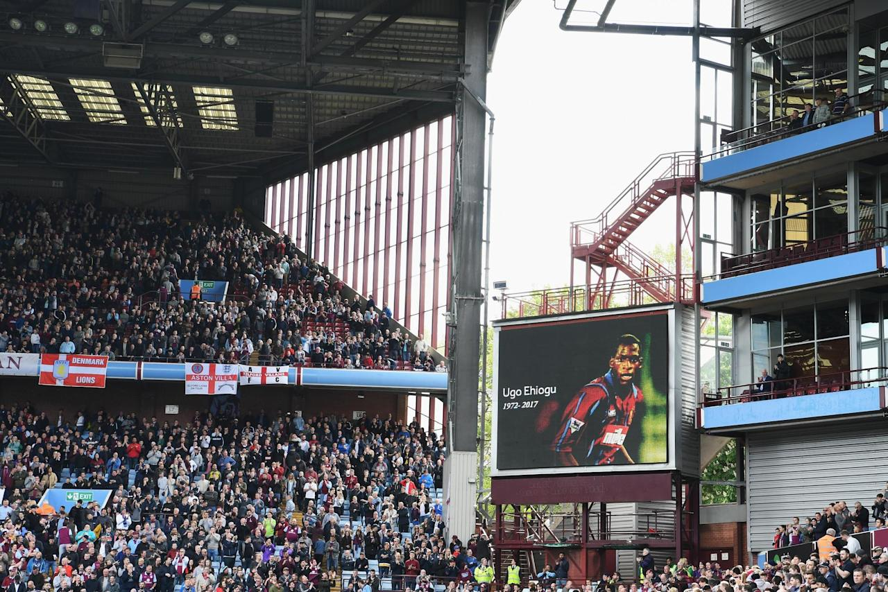 'Ugo, Ugo, Ugo': Aston Villa hold minute's applause with Birmingham City in tribute to former player