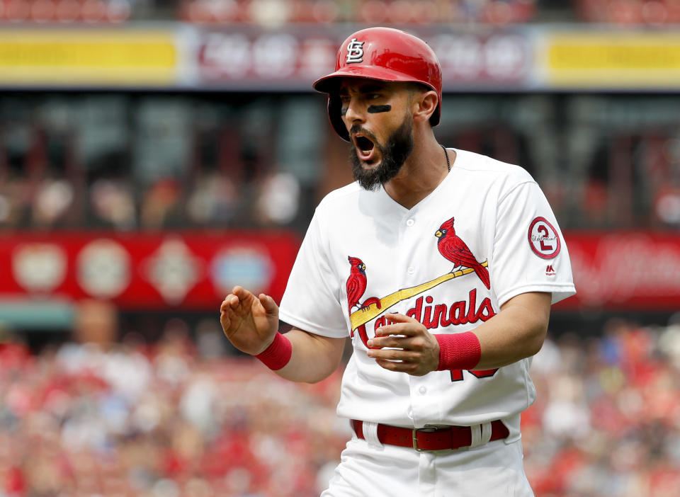 Matt Carpenter is batting almost .300 with 16 home runs and 27 RBI in his last 34 games. (AP)