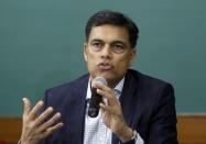 FILE PHOTO: Jindal speaks during a news conference in Ahmedabad