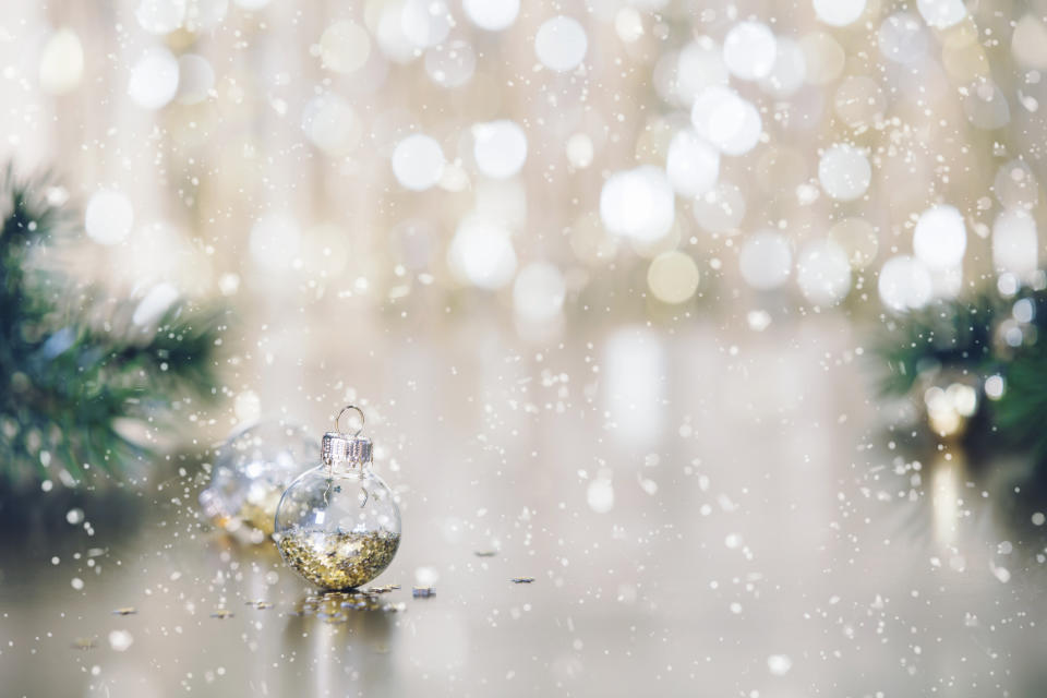 Morrisons, John Lewis and Waitrose commit to going glitter-free this Christmas. (Getty Images)