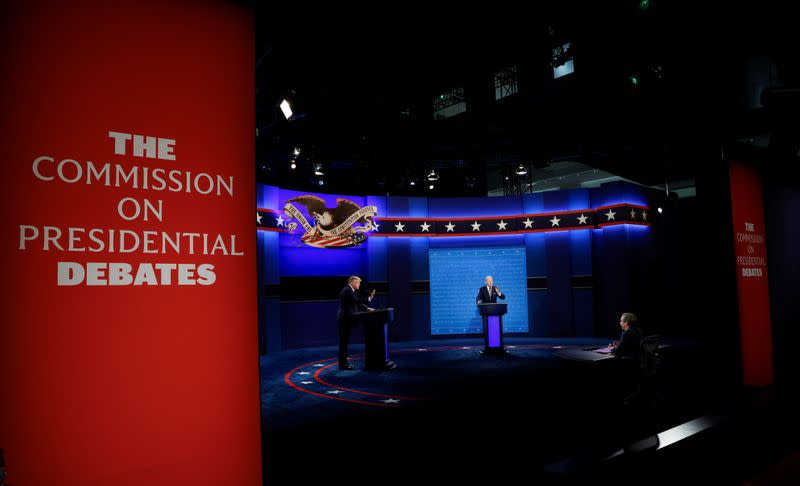 Chaotic U.S. election debate fuel investors' fears of contested result