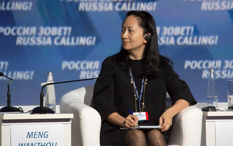 Huawei's chief financial officer has been charged in Vancouver - REUTERS
