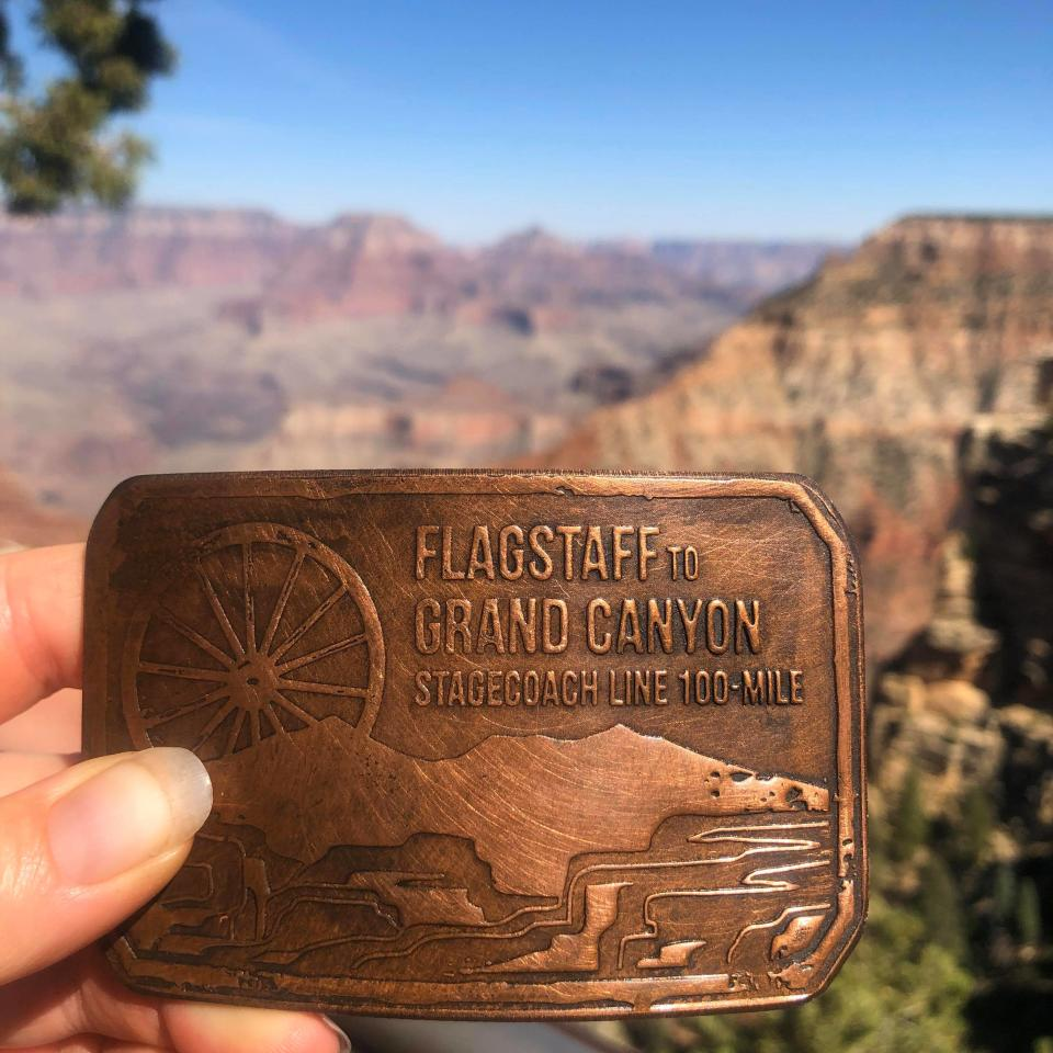 Zarich ran from Flagstaff, Ariz. to the south rim of the Grand Canyon in 30 hours, her personal best for 100 miles. (Photo: Kalyca Zarich)