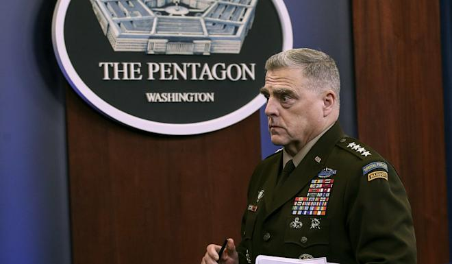 General Mark Milley, chairman of the Joint Chiefs of Staff. Photo: AFP