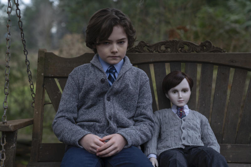 Jude (Christopher Convery) and Brahms in Brahms: The Boy II. (PHOTO: Golden Village Pictures)
